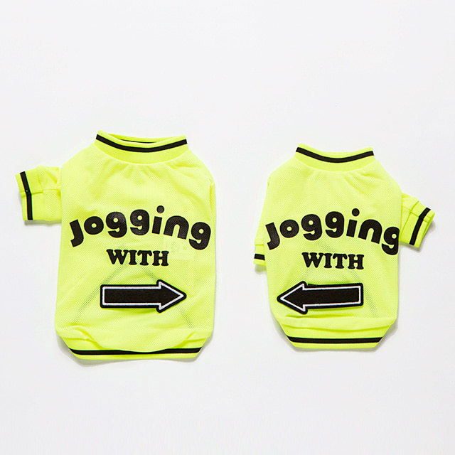 Jogging T-shirts(Green)